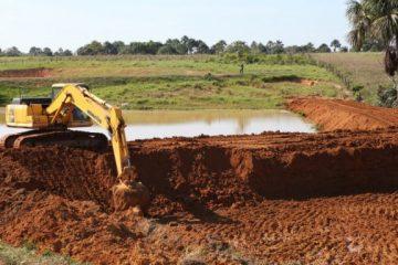 Represas e tanques para peixes